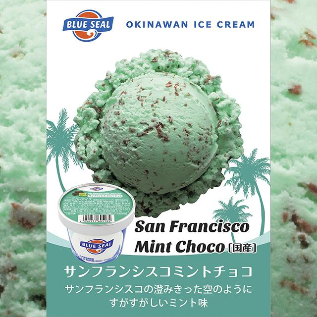 ブルーシールアイス/サンフランシスコミントチョコ〈110mlカップ〉