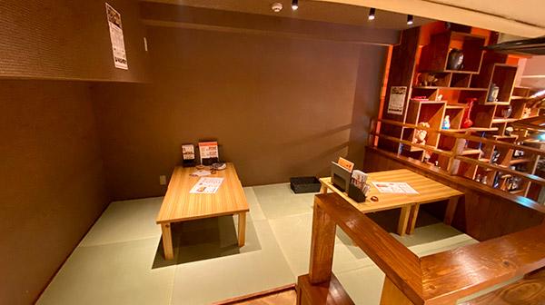 ナマステ南風浄心店2F半個室お座敷