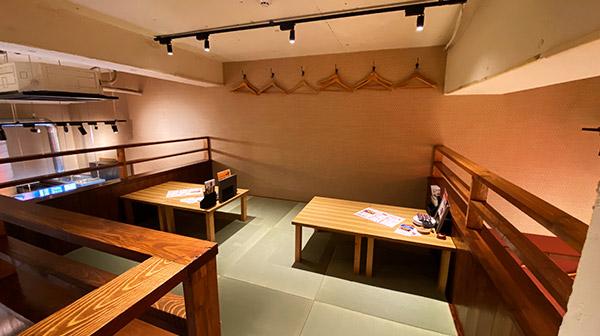 ナマステ南風浄心店2F半個室